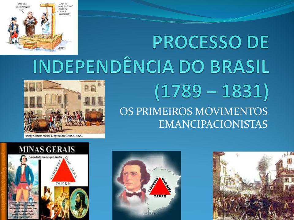 A CORTE NO BRASIL – A INSURREIÇÃO PERNAMBUCANA - 1817 Crise na economia açucareira e na fazendas de algodão, agravadas pela seca, aumentam as dificuldades na região.
