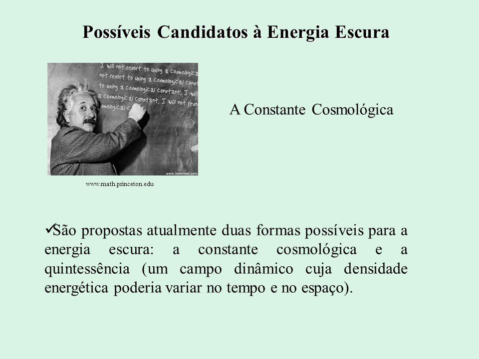 Em cosmologia, a energia escura é uma forma hipotética de energia que estaria permeada no espaço, tendo uma forte pressão negativa. De acordo com a Te