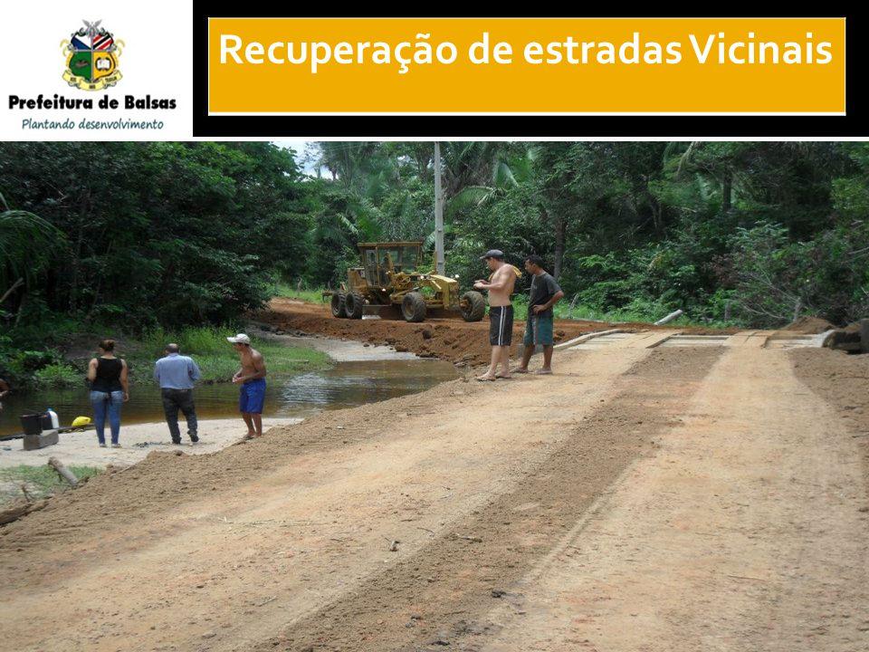 37 Recuperação de estradas Vicinais