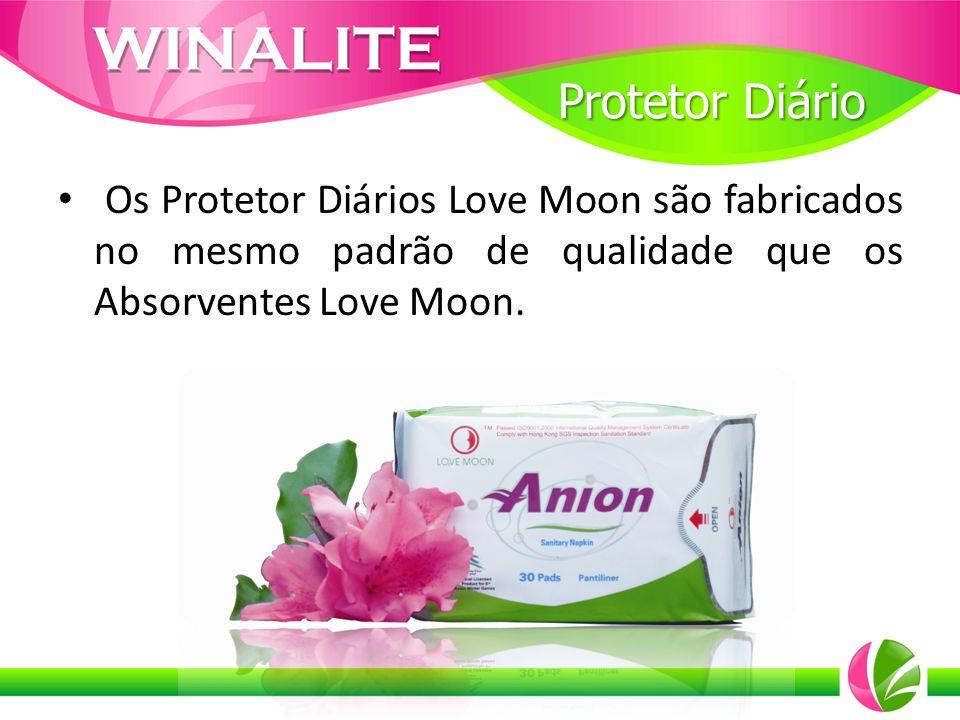 Os Protetor Diários Love Moon são fabricados no mesmo padrão de qualidade que os Absorventes Love Moon. Protetor Diário