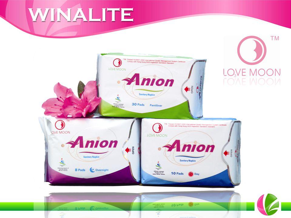 Os Absorventes Love Moon da Winalite são uma inovação revolucionária para proteção da mulher.