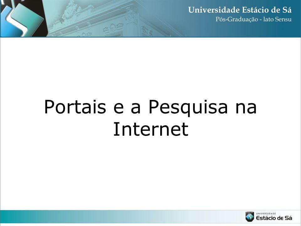 Portais e a Pesquisa na Internet