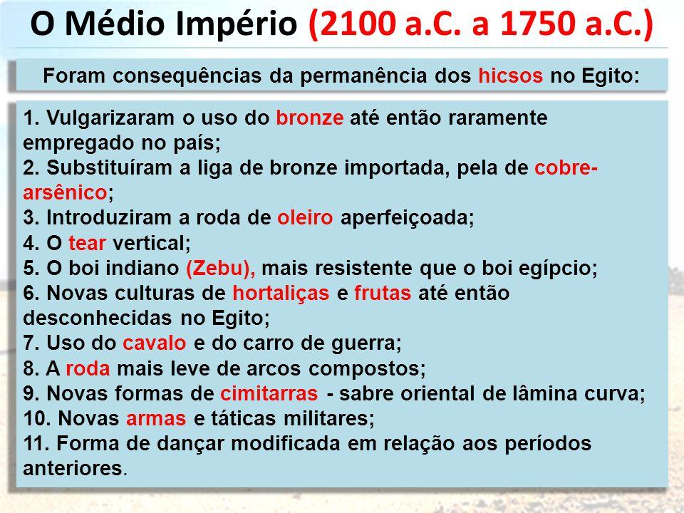 O Médio Império (2100 a.C.