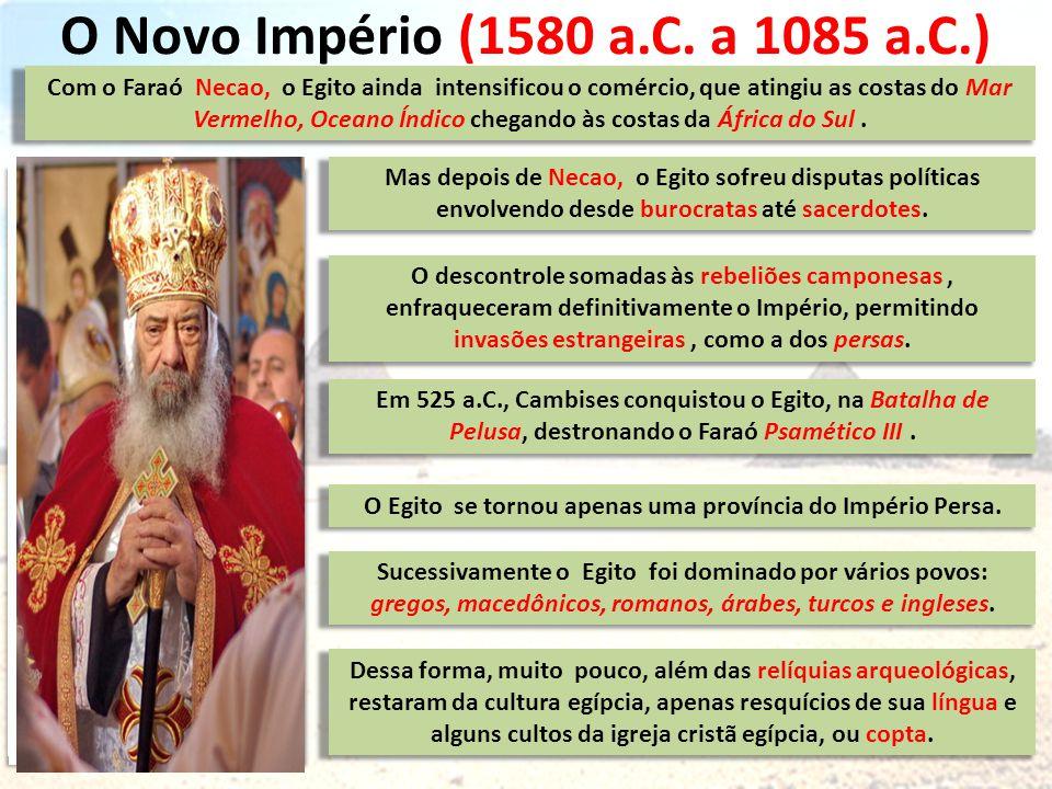 O Novo Império (1580 a.C.