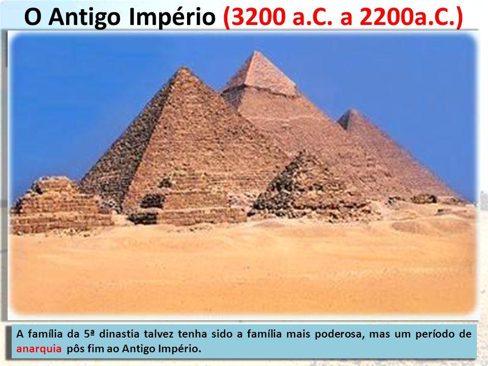O Antigo Império (3200 a.C.