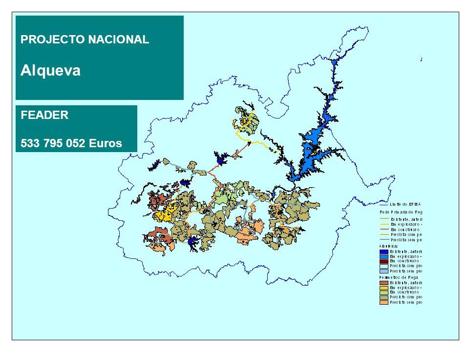 PROJECTO NACIONAL Alqueva FEADER 533 795 052 Euros