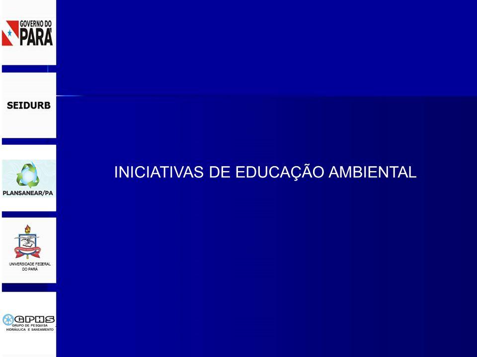 INICIATIVAS DE EDUCAÇÃO AMBIENTAL