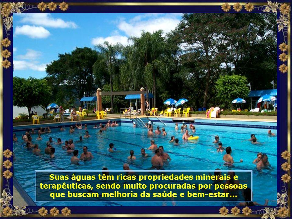 Nesse local foi, então, construído o Parque Termal, um complexo turístico numa área de 105.000 m², com piscinas, toboáguas, chuveiros ao ar livre e mu