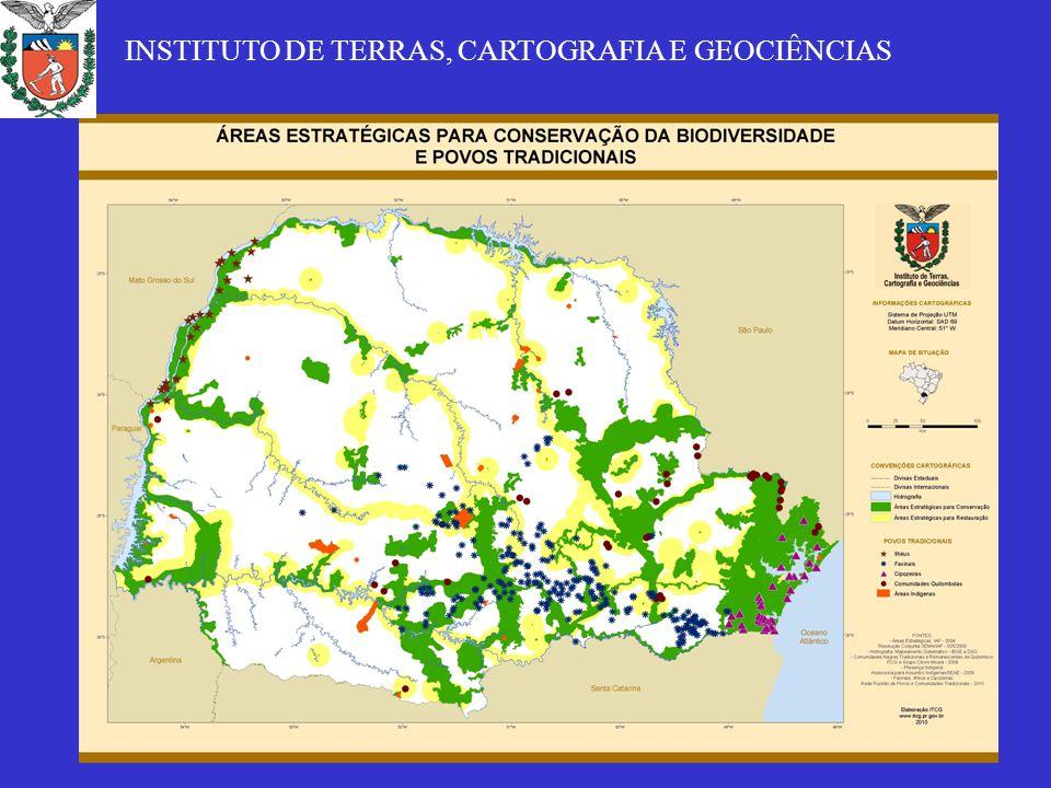 CONFLITOS SOCIAMBIENTAIS E LEGISLAÇÃO AMBIENTAL – EXPERIÊNCIA DO PARANÁ CONTEXTO ATUAL: -Atualmente a cobertura florestal não é superior a 10%, está dispersa e mal distribuída: nas terras com relevo acidentado e nas terras marginais ocupadas pelos povos tradicionais (quem concentra a terra concentra as florestas: Guaraqueçaba: 29 (3,6%) detém 81% da terra e 91% das florestas); - Via de regra os povos tradicionais e/ou a agricultura camponesa está sempre na ilegalidade porque restou-lhes as terras marginais – morros, solos pedregosos, áreas inundáveis...