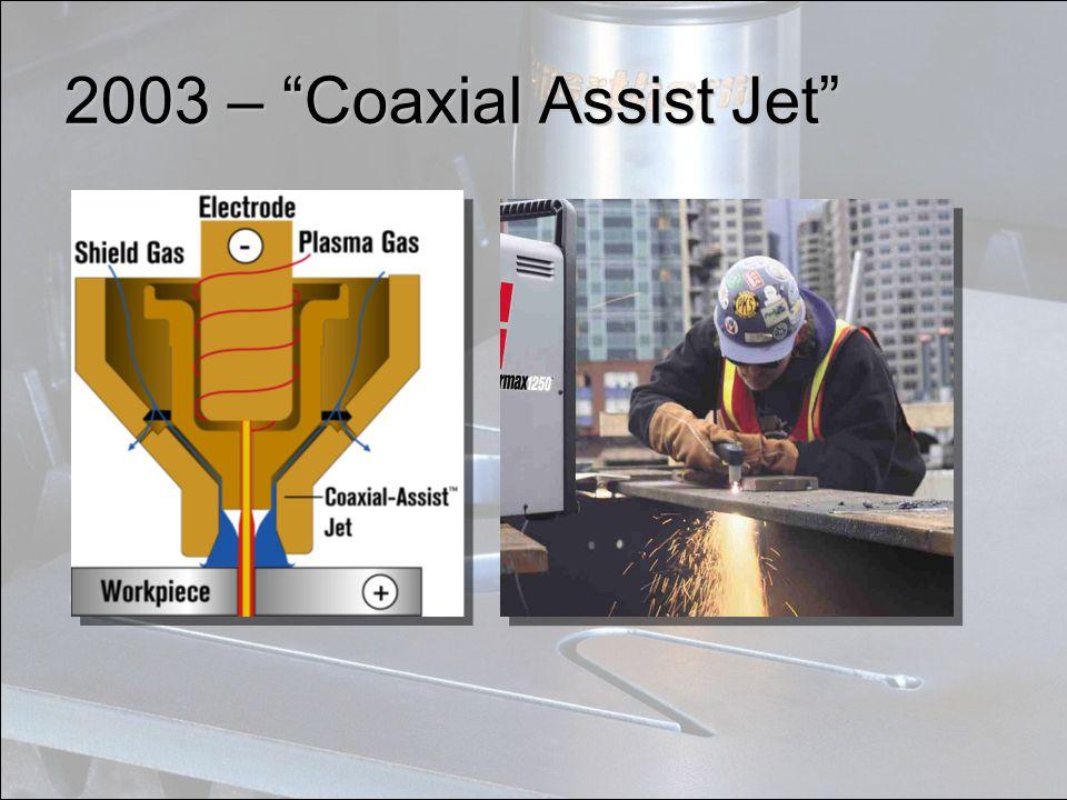 """2003 – """"Coaxial Assist Jet"""""""
