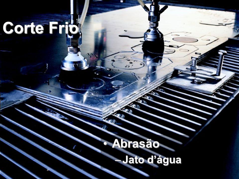 Corte Frio AbrasãoAbrasão –Jato d'água