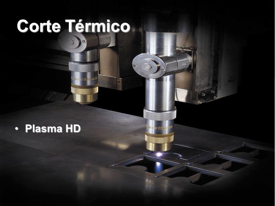 Plasma HyPerformance Corte Hydefinition pela ½ do custo operacional  Superior qualidade de corte e mais consistência  Aumento de produtividade  Custo operacional minimizado  Insuperável flexibilidade do processo