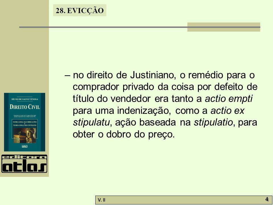 28.EVICÇÃO V. II 5 5 28.3.