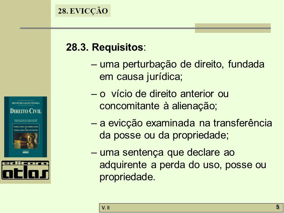 28.EVICÇÃO V. II 6 6 28.3.1.