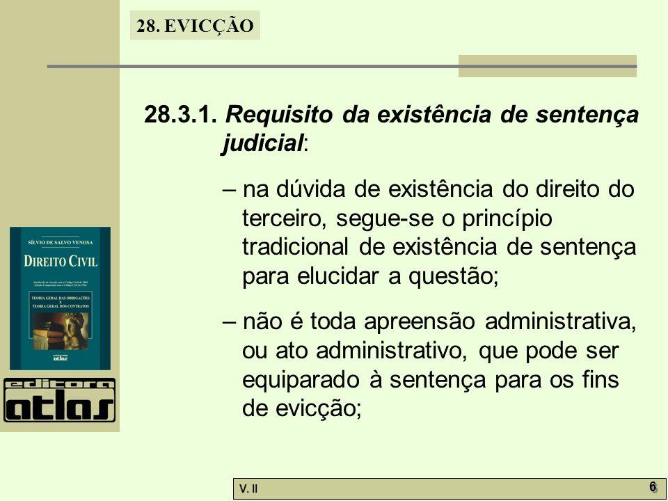 28.EVICÇÃO V.