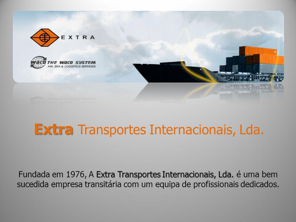 Empresa Com sede em Lisboa Extra-Transportes Internacionais, Lda.