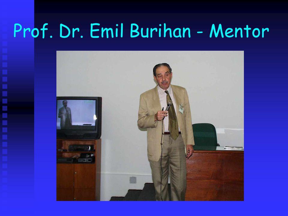 Prof. Dr. Emil Burihan - Mentor