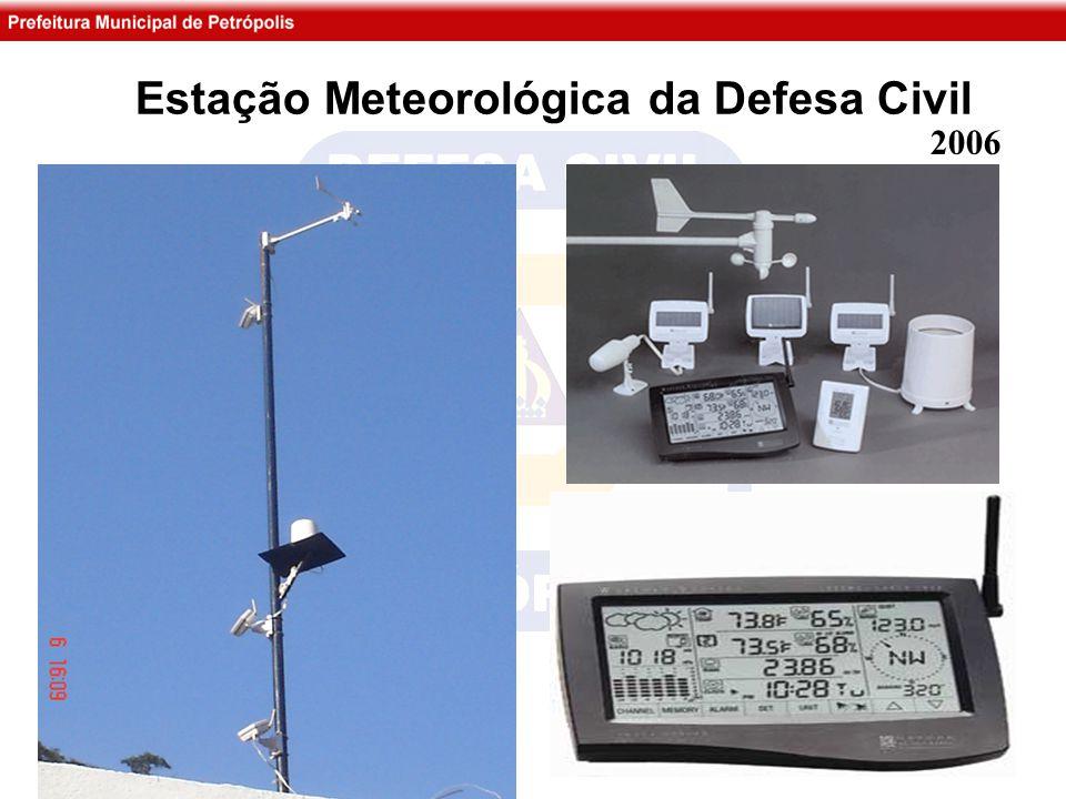 Estação Meteorológica da Defesa Civil 2006