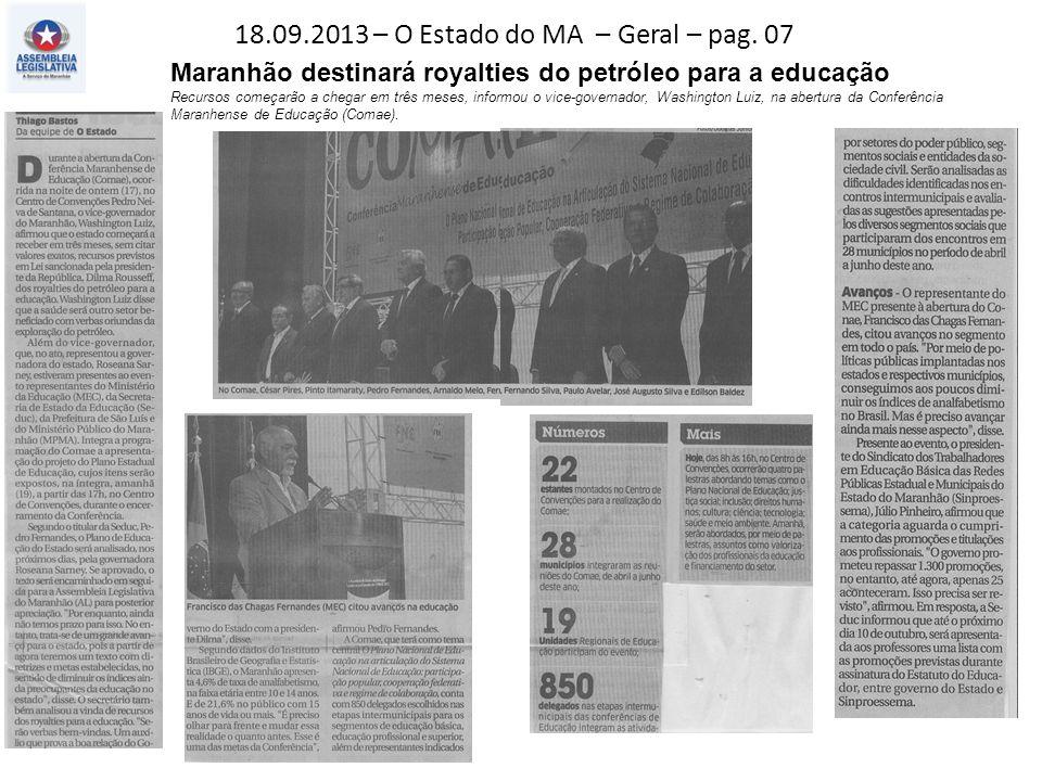 18.09.2013 – O Estado do MA – Geral – pag.