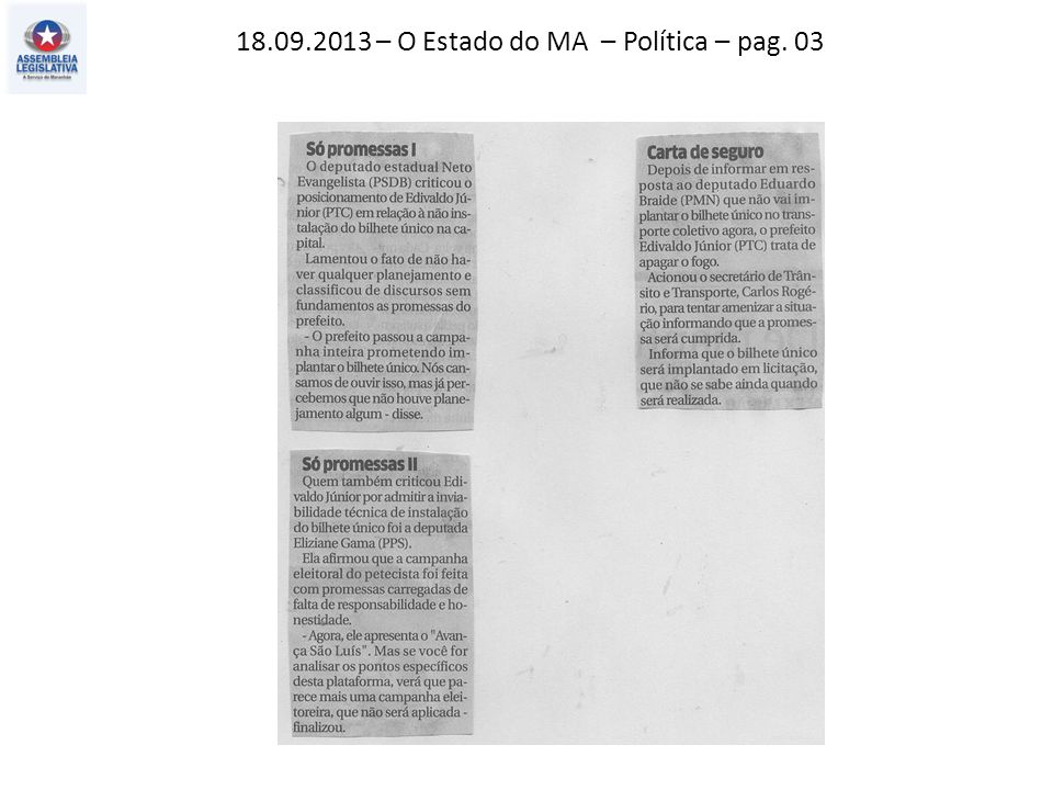 11.09.2013 – O Imparcial – Política – pag. 03