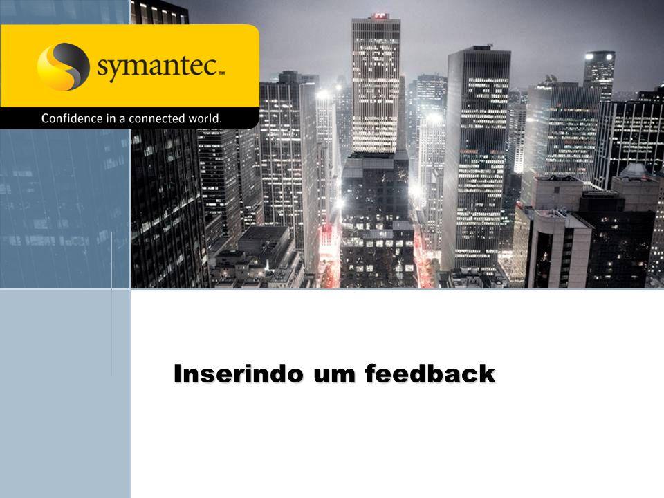 Inserindo um feedback