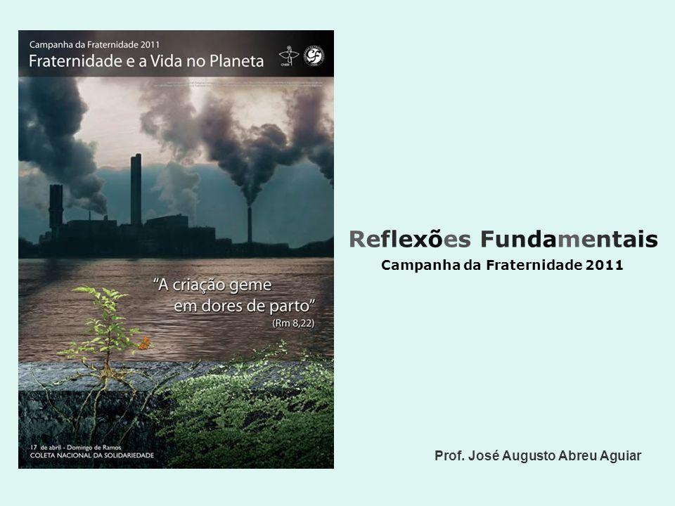Reflexões Fundamentais Campanha da Fraternidade 2011 Prof. José Augusto Abreu Aguiar