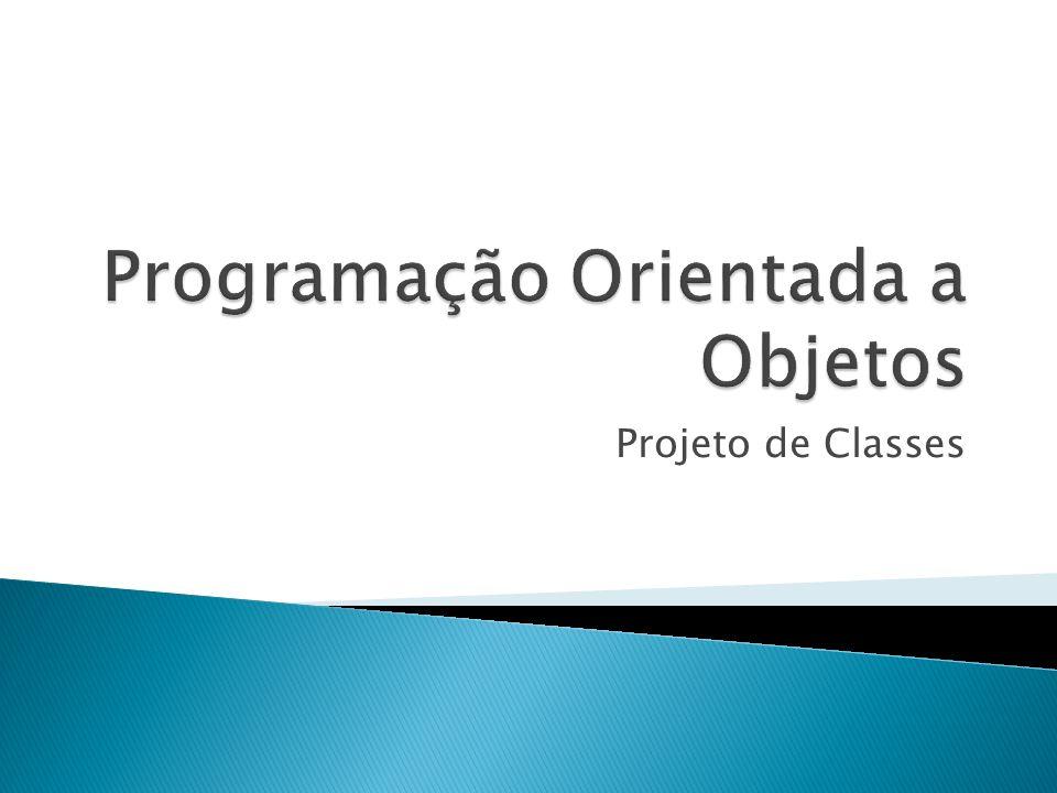 Projeto de Classes
