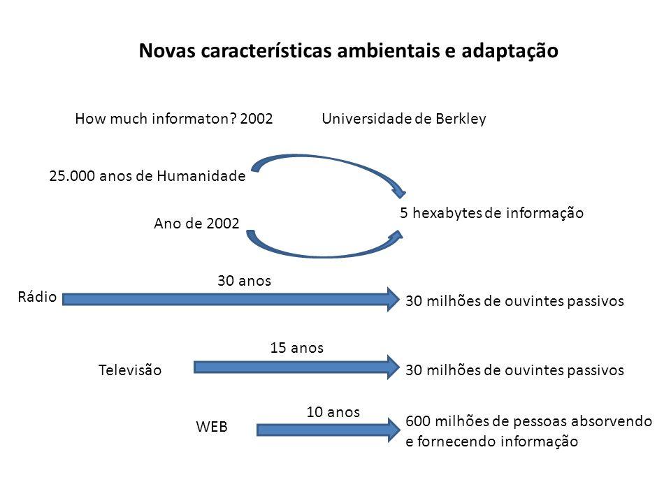 Informações desnecessárias 2005 – 35 bilhões de mensagens (International Data Corporation) 2006 – 90% dos e-mails em circulação são spam (O Estado de São Paulo) Acessibilidade total que conquistamos não implica que precisemos de tudo