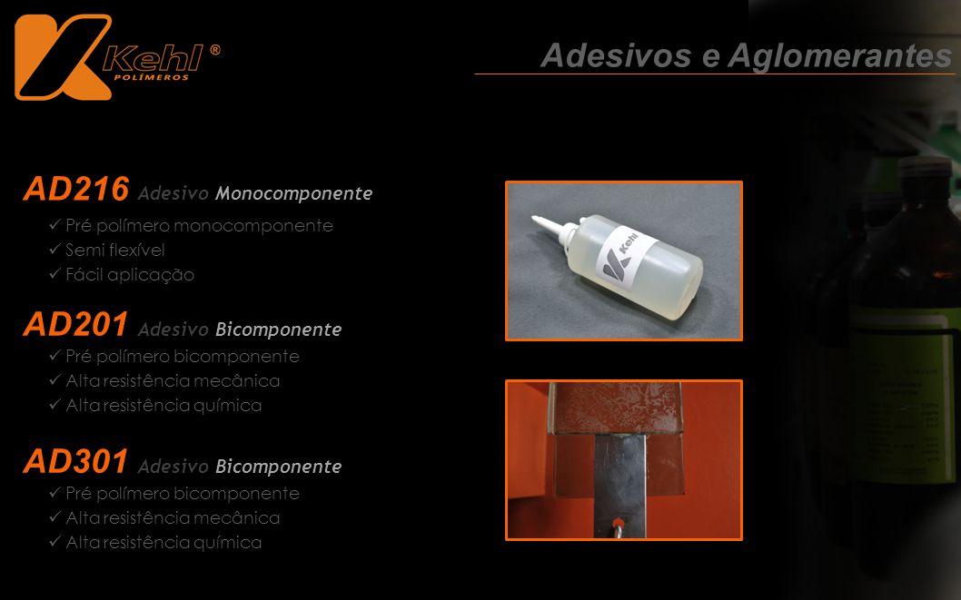 Pré polímero bicomponente Alta resistência mecânica Alta resistência química Adesivos e Aglomerantes AD216 Adesivo Monocomponente AD201 Adesivo Bicomp