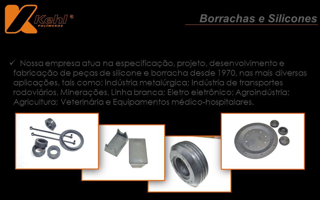 Nossa empresa atua na especificação, projeto, desenvolvimento e fabricação de peças de silicone e borracha desde 1970, nas mais diversas aplicações, t