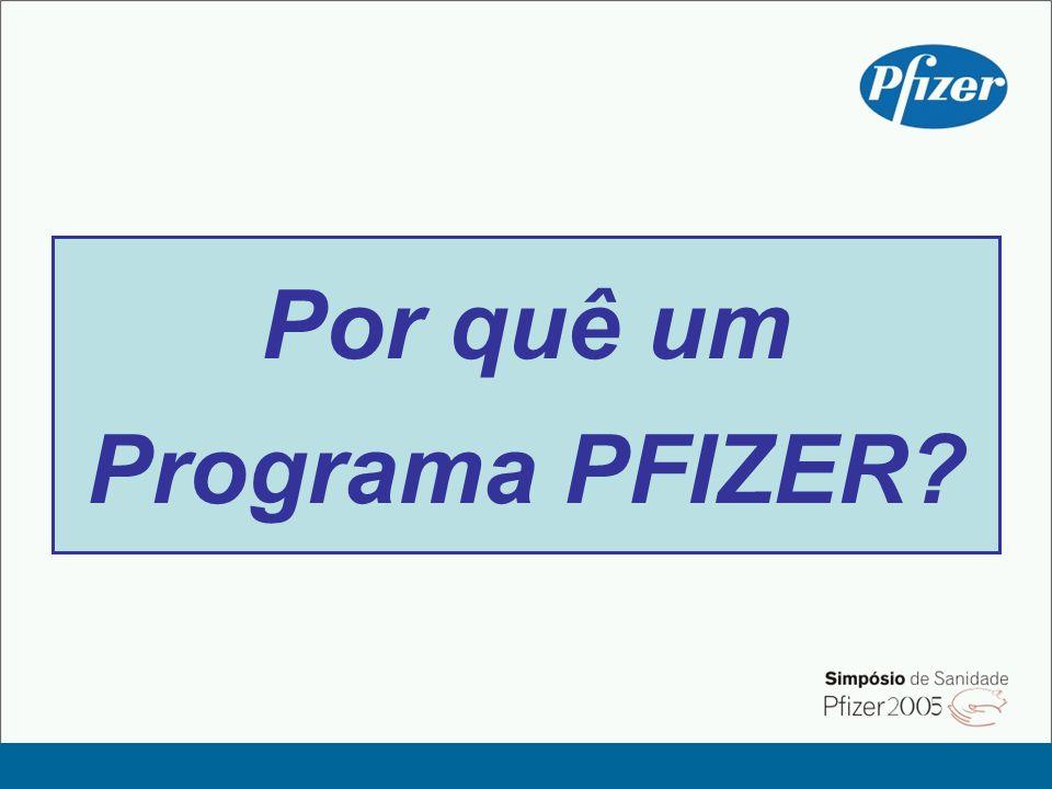 Por quê um Programa PFIZER?
