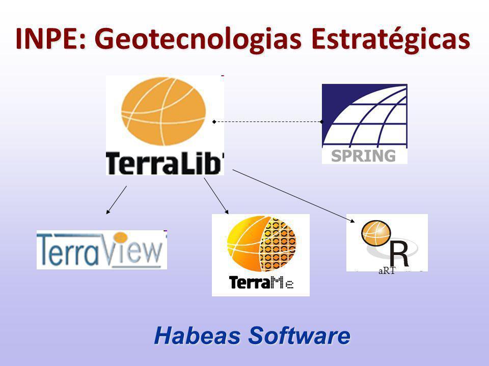 INPE: Geotecnologias Estratégicas aRT Habeas Software
