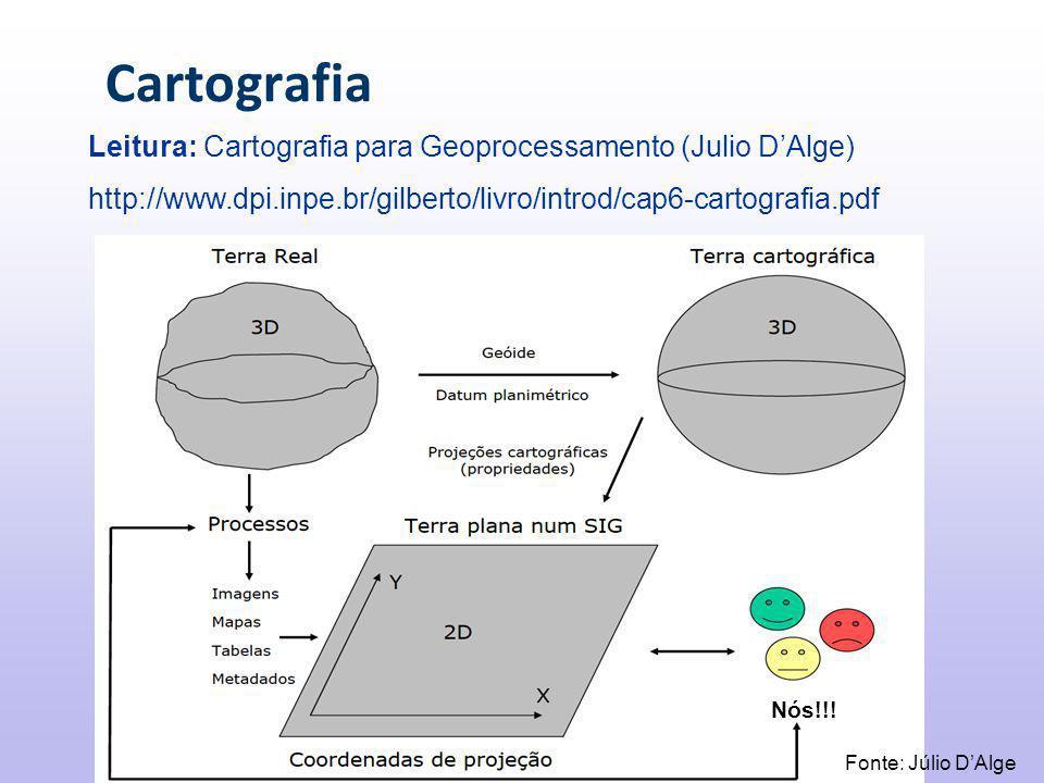 Cartografia Fonte: Júlio D'Alge Nós!!.