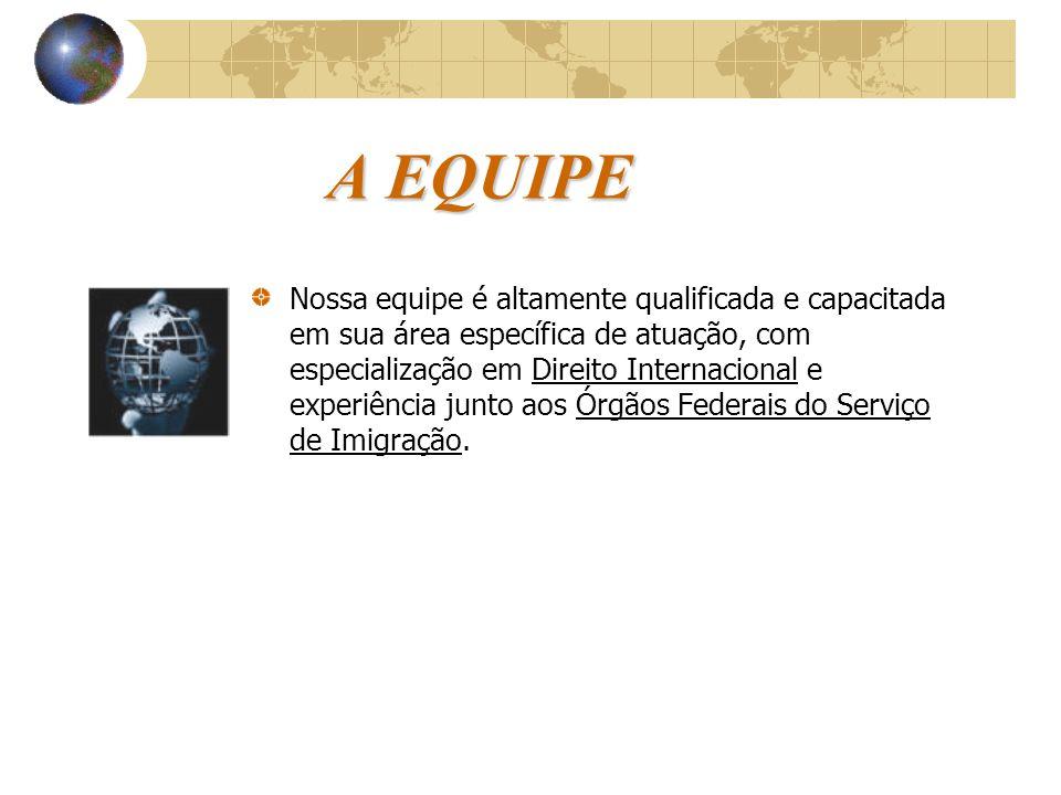 A EMPRESA WORLD VISAS A WORLD VISAS é uma empresa especializada em legalização para estrangeiros, prestando serviços a diversas organizações no territ