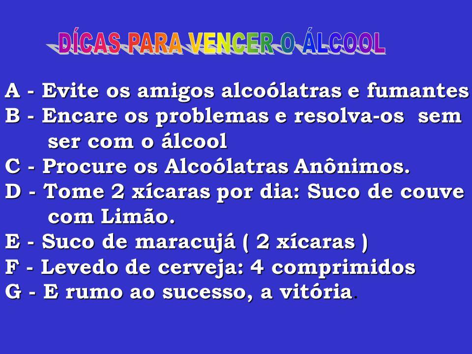 1 - Perda da memória (amnésia). 2 - Dirigir após ingerir álcool.