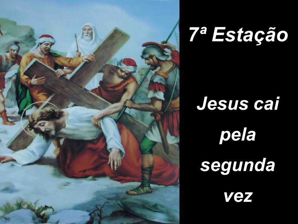7ª Estação Jesus cai pela segunda vez