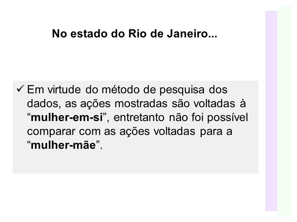No estado do Rio de Janeiro...