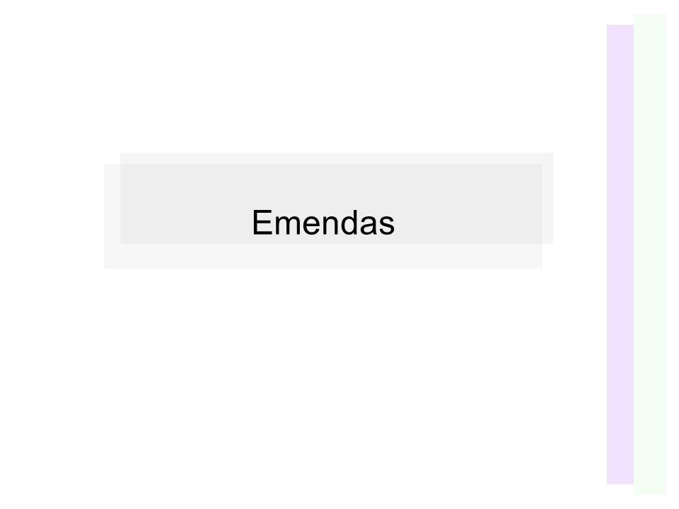 Emendas