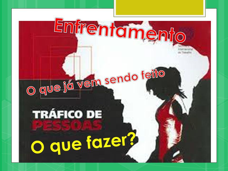 No Brasil a Igreja delineou 3 caminhos de ações principais:  Prevenção  Cuidado pastoral das vítimas  Proteção e reintegração na sociedade A CNBB, em âmbito nacional, em 2008, criou 2 GTs: combate ao trabalho escravo e o grupo de enfrentamento ao tráfico de pessoas.