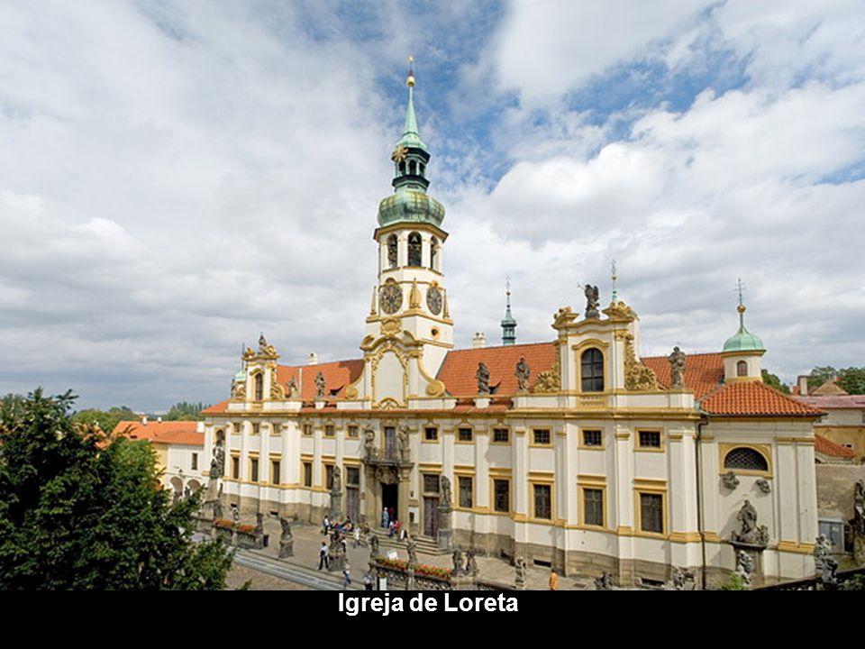 Catedral de St. Vito e o Castelo de Praga