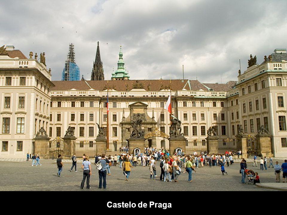 A caminho do Castelo de Praga