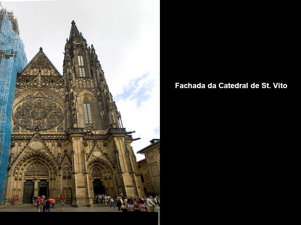 Entrada principal do Castelo de Praga