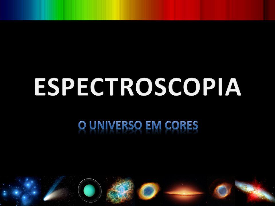 O INSTRUMENTO O espectroscópio foi utilizado pela primeira vez em 1859...