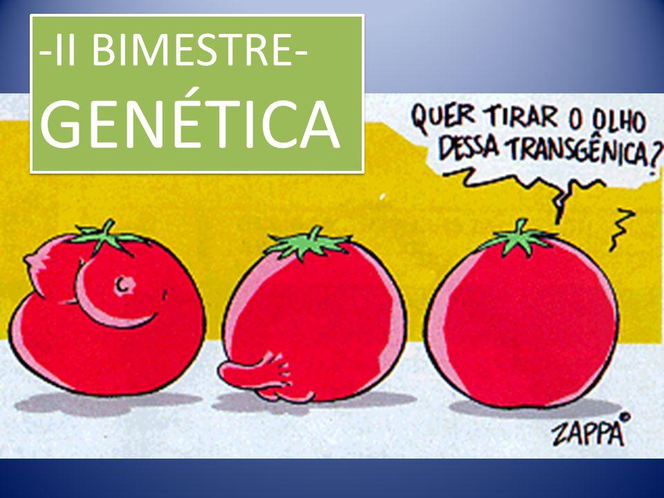 -II BIMESTRE- GENÉTICA -II BIMESTRE- GENÉTICA