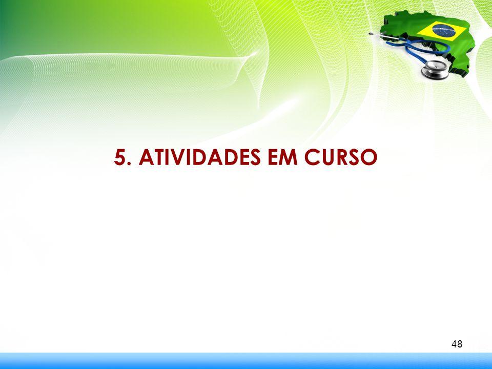 5. ATIVIDADES EM CURSO 48
