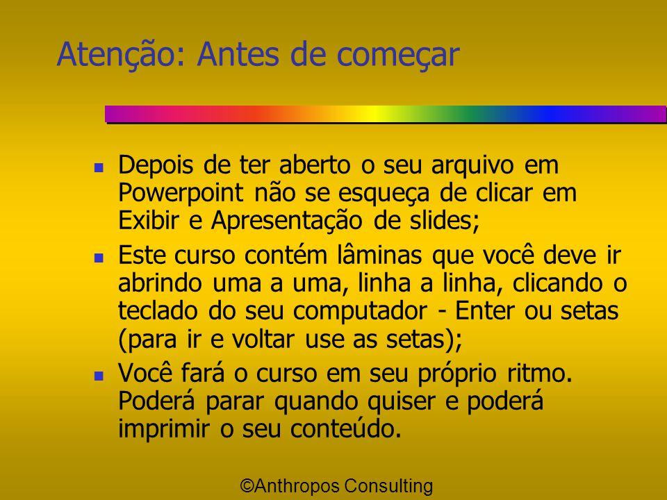 Essencial Importante ©Anthropos Consulting