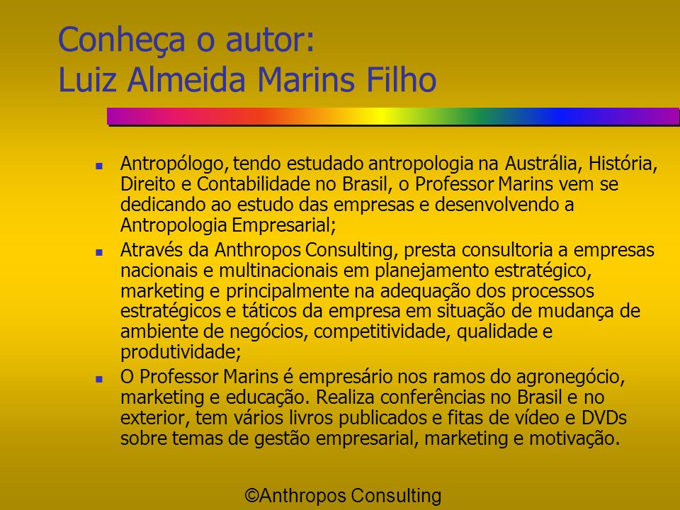 Credibilidade versus Debilidade ©Anthropos Consulting