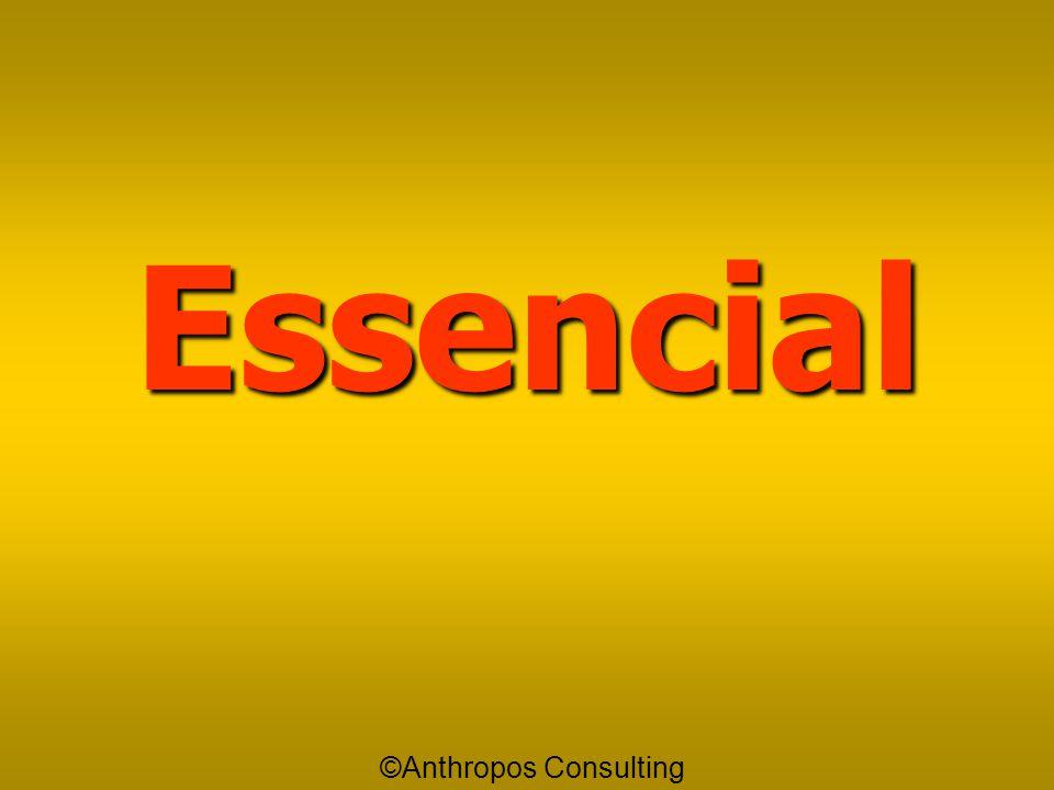 Essencial Essencial é aquilo que devo fazer imediatamente já! É aquilo que mais me leva em direção aos meus objetivos naquele momento presente ©Anthro