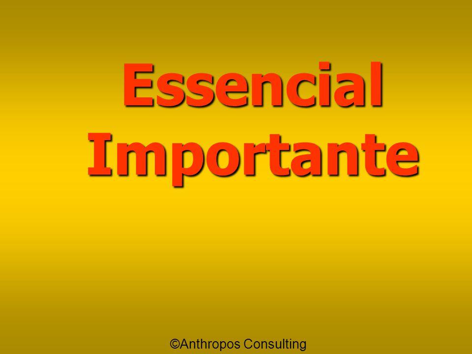 """Importante Importante é aquilo que eu """"devo"""" fazer, porém só depois que eu tiver feito aquilo que eu havia considerado como Essencial. ©Anthropos Cons"""