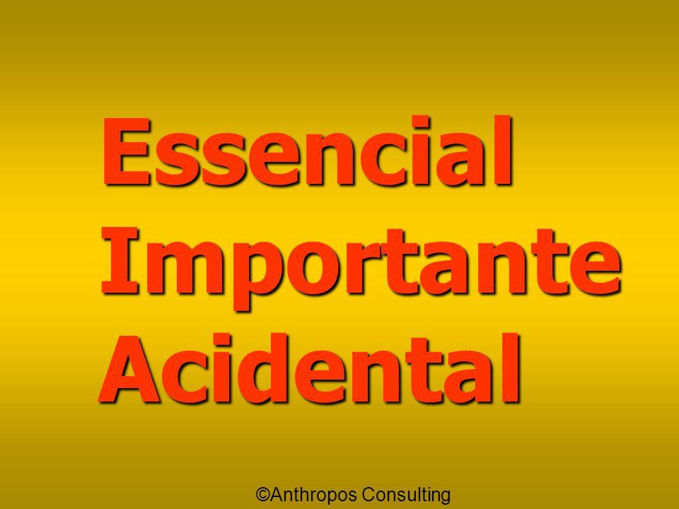 """Acidental Acidental é aquilo que eu """"devo"""" fazer, porém só depois que eu tiver feito o que eu havia antes considerado como Essencial e como Importante"""
